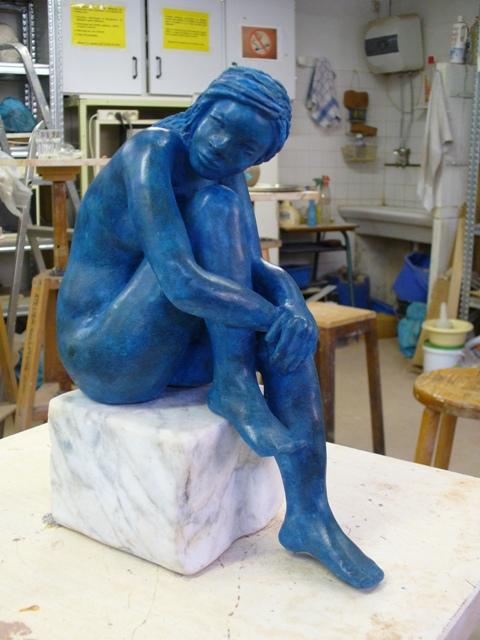 Monique - argile - 2007