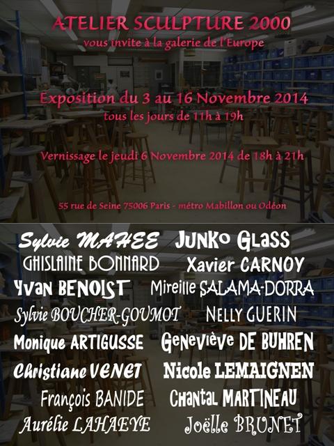 Expo galerie europe nov 2014 flyer