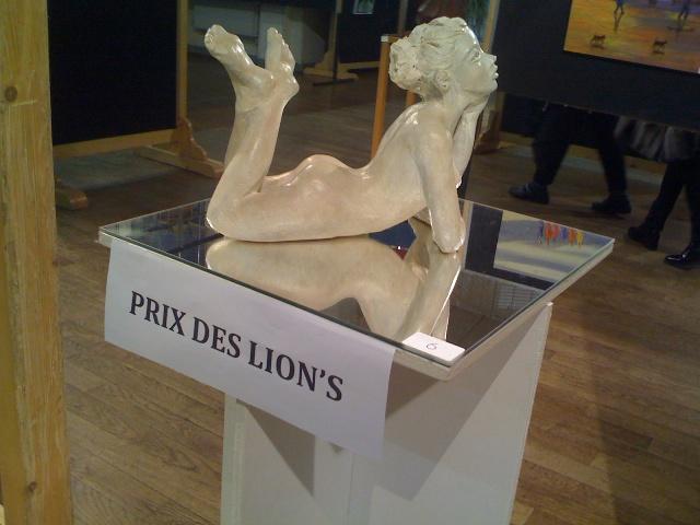 Monique prix lions 11 2012