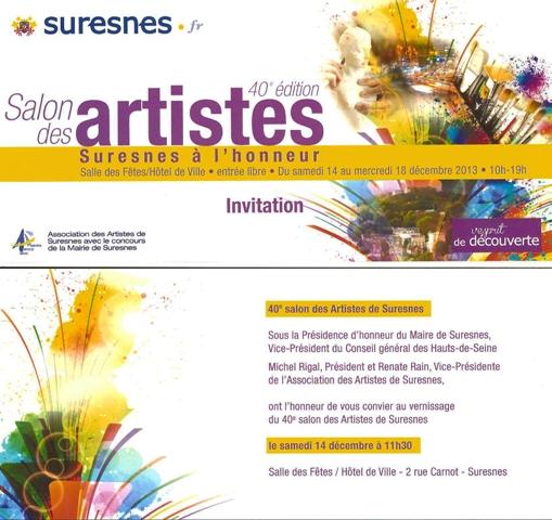 Salon des artistes dec 2013