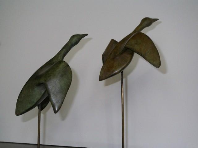 Sylvie paulhac bronze canards