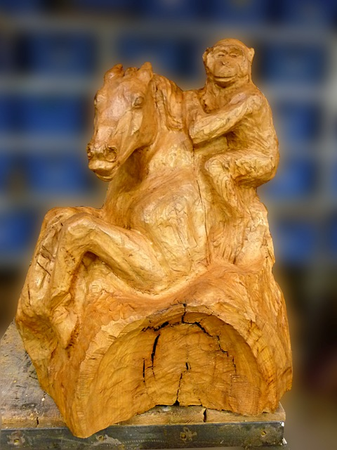 Yvan cheval et singe 190609